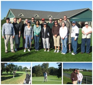 Mosaic employees hit the links during Golf Outing