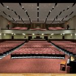 Mosaic's auditorium design accommodates Glens Falls' extensive music program and the Glens Fall Symphony, a professional union orchestra.