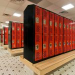Mosaic's design for the Glens Falls High School aquatic center included renovation of the locker rooms.
