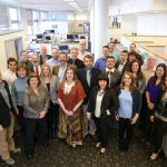 The staff of Mosaic Associates , educational architecture specialists in Troy, NY.