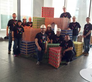Team Mosaic's 2016 CANstructure